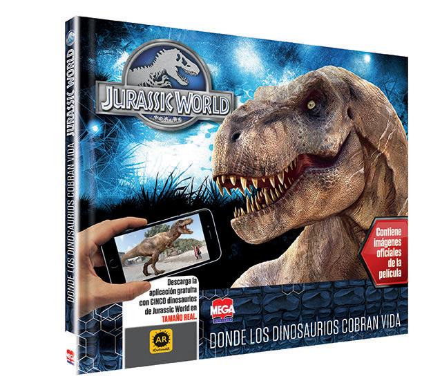 Jurassic World con Realidad Aumentada - Larousse México